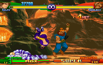 Street Fighter Alpha 3 (SS)   © Capcom 1999    6/10