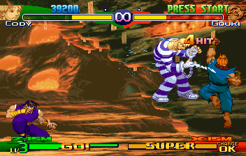 Street Fighter Alpha 3 (SS)   © Capcom 1999    7/10