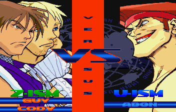 Street Fighter Alpha 3 (SS)   © Capcom 1999    8/10