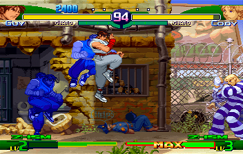 Street Fighter Alpha 3 (SS)   © Capcom 1999    9/10