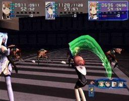 Xenosaga: Episode I: Der Wille Zur Macht (PS2)  © Namco 2002   1/6