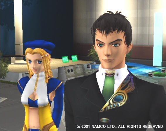 Xenosaga: Episode I: Der Wille Zur Macht (PS2)  © Namco 2002   4/6