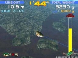 Sega Bass Fishing (DC)  © Sega 1999   2/3