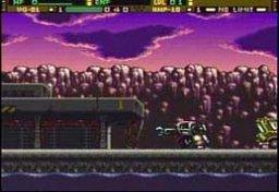 Front Mission: Gun Hazard (SNES)  © Square 1996   1/4