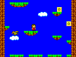Alex Kidd In Miracle World (SMS)   © Sega 1986    2/9