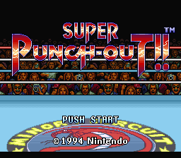 Super Punch-Out!! (SNES)  © Nintendo 1994   1/3