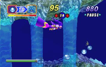 NiGHTS Into Dreams... (SS)  © Sega 1996   9/19