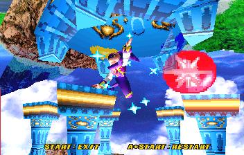 NiGHTS Into Dreams... (SS)  © Sega 1996   17/19