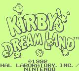 Kirby's Dream Land (GB)  © Nintendo 1992   1/3