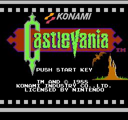 Castlevania (NES)  © Konami 1987   1/3