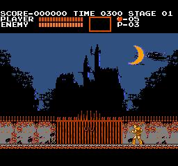 Castlevania (NES)  © Konami 1987   2/3