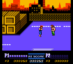 Double Dragon II: The Revenge (NES)   © Acclaim 1989    2/3