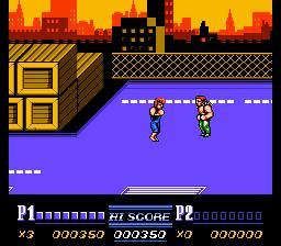 Double Dragon II: The Revenge (NES)  © Acclaim 1989   2/3