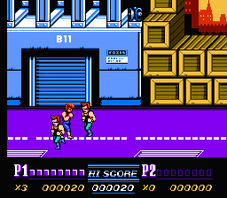 Double Dragon II: The Revenge (NES)   © Acclaim 1989    3/3