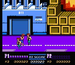 Double Dragon II: The Revenge (NES)  © Acclaim 1989   3/3
