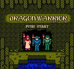 Dragon Quest II (NES)  © Enix 1987   1/3