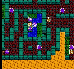 Dragon Quest II (NES)  © Enix 1987   2/3
