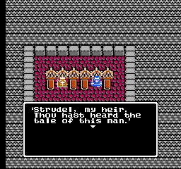 Dragon Quest II (NES)  © Enix 1987   3/3