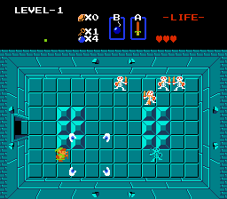 The Legend Of Zelda   © Nintendo 1987   (NES)    4/4