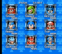 Mega Man 3 (NES)   © Capcom 1990    2/3