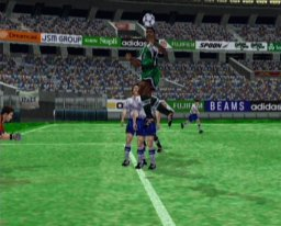 Virtua Striker 2 (DC)  © Sega 1999   1/2