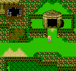 Willow (1991) (NES)  © Capcom 1989   2/3