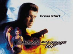 007: The World Is Not Enough (N64)   © EA 2000    1/3