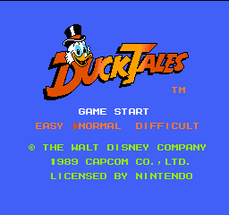 DuckTales (NES)   © Capcom 1989    1/3