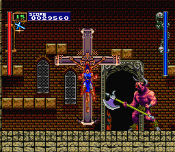Akumajo Dracula X: Chi No Rondo (PCCD)  © Konami 1993   8/23