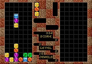 Columns (SMD)  © Sega 1990   4/4
