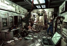 Resident Evil 2 (GCN)  © Capcom 2003   2/4