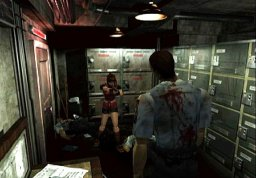 Resident Evil 2 (GCN)  © Capcom 2003   3/4