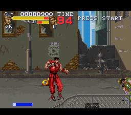 Final Fight 3 (SNES)  © Capcom 1995   2/8