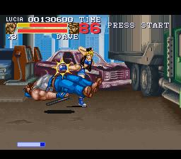 Final Fight 3 (SNES)  © Capcom 1995   7/8