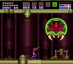 Super Metroid (SNES)   © Nintendo 1994    5/11