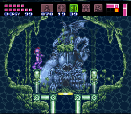 Super Metroid (SNES)   © Nintendo 1994    2/11