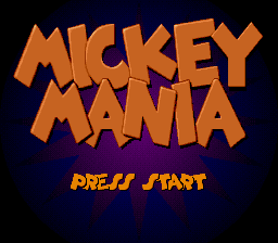 Mickey Mania: The Timeless Adventures Of Mickey Mouse (SNES)   © Sony 1994    1/5