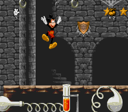 Mickey Mania: The Timeless Adventures Of Mickey Mouse (SNES)   © Sony 1994    3/5