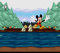Mickey Mania: The Timeless Adventures Of Mickey Mouse (SNES)   © Sony 1994    4/5