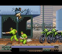 Ninja Warriors (SNES)  © Titus 1994   3/3