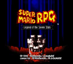 Super Mario RPG: Legend Of The Seven Stars  © Nintendo 1996  (SNES)   1/3