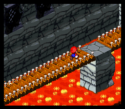 Super Mario RPG: Legend Of The Seven Stars  © Nintendo 1996  (SNES)   2/3