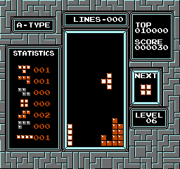 Tetris (NES)  © Nintendo 1988   2/3