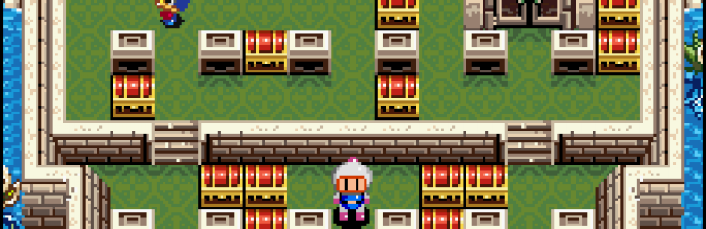 <h2 class='titel'>Super Bomberman 2</h2><h2 class='score'>8/10</h2><div><span class='citat'>&bdquo;En af de bedste singleplayer modes i et Bomberman-spil takket være kreativt puzzle-orienteret design, der giver hver bane deres eget udtryk. Bosserne er nemme, men konsekvent sjove.&ldquo;</span><span class='forfatter'>- Sumez</span></div>