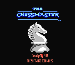 The Chessmaster (NES)   © Hi Tech Expressions 1990    1/3