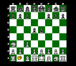 The Chessmaster (NES)   © Hi Tech Expressions 1990    2/3