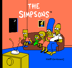 The Simpsons: Bart Vs. The Space Mutants (NES)  © Acclaim 1991   2/3