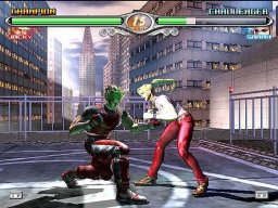 Virtua Fighter 4 Evolution (PS2)  © Sega 2003   1/3