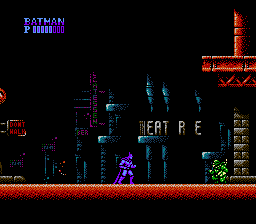 Batman (1989) (NES)   © SunSoft 1989    2/3