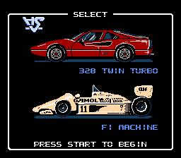 Rad Racer (NES)  © Nintendo 1987   2/3